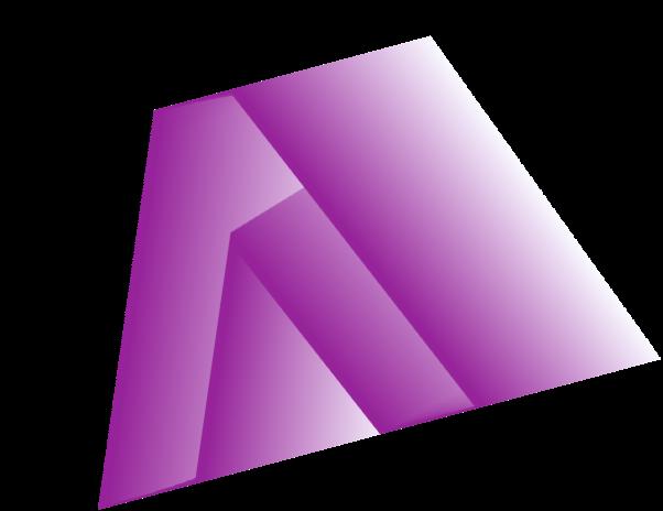 forme graphique dégradée en V