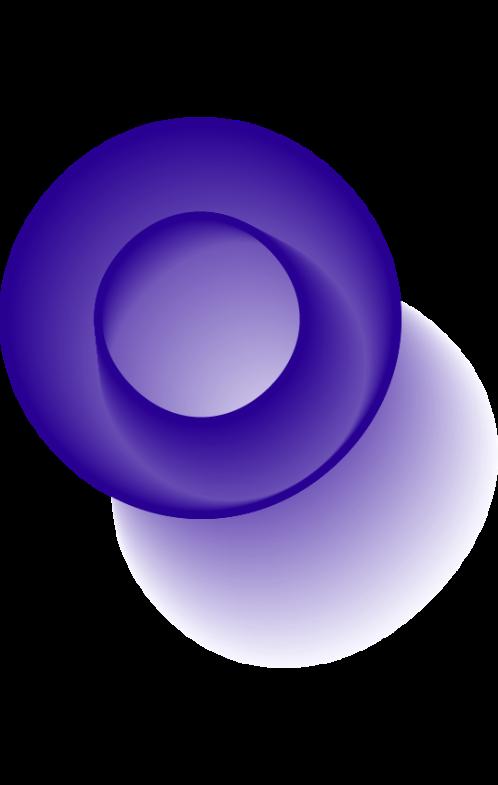 forme graphique effet moiré en O