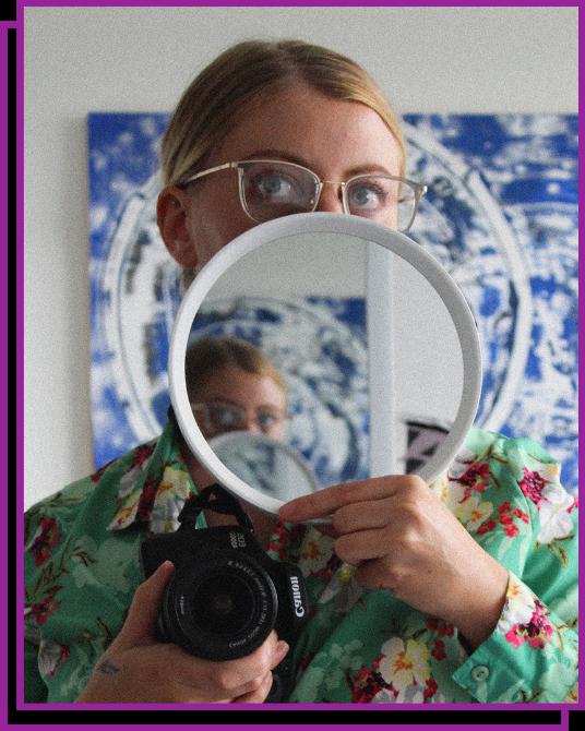 Camille Baouche portrait directrice artistique