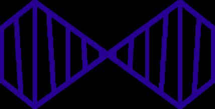 pictogramme identité visuelle bleu