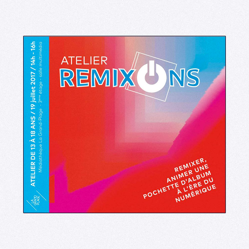 flyer atelier remixons