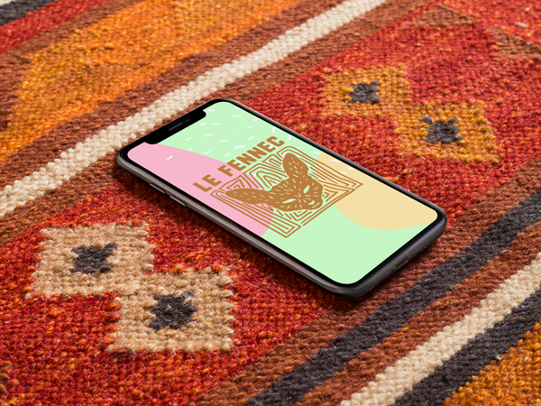 site le fennec sur smartphone