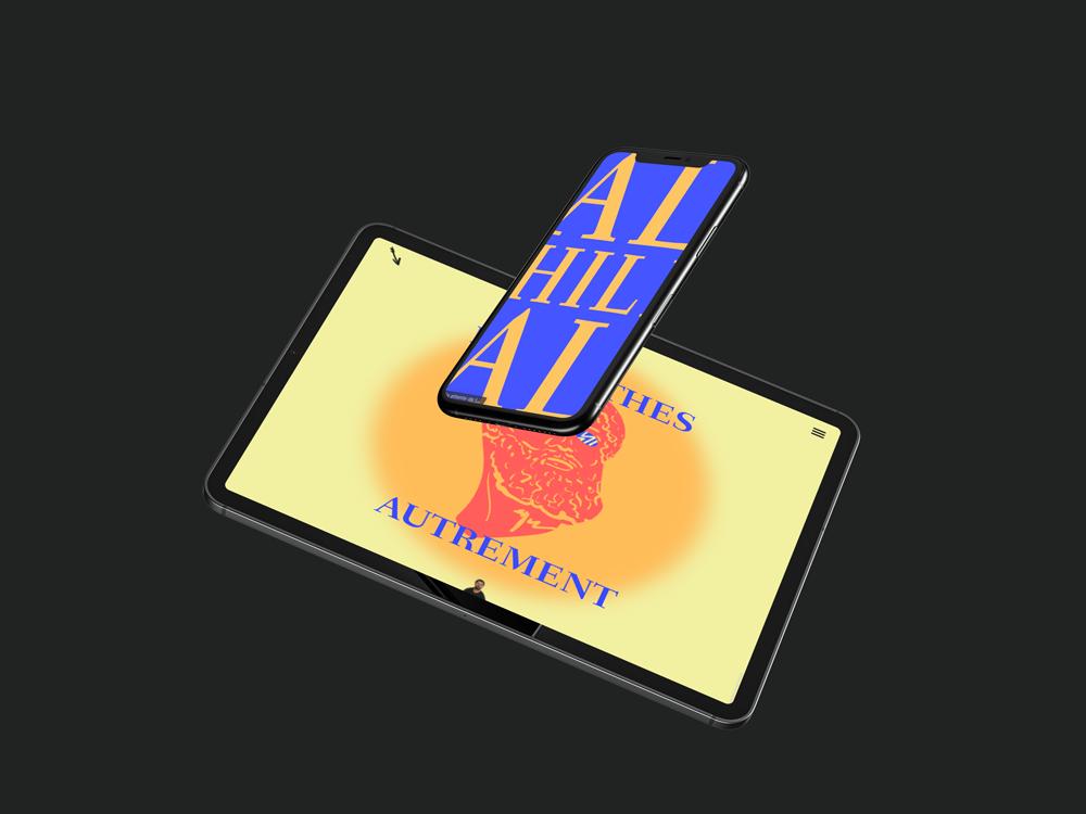 talon d'achille site Internet sur tablette et smartphone